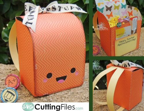 Kawaii Back Pack Box