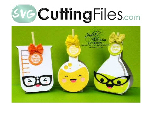 Kawaii Beaker Lollipop Covers