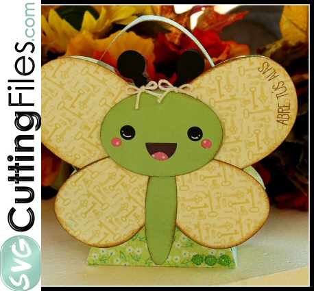 Kawaii Butterfly Treat Bag/Box