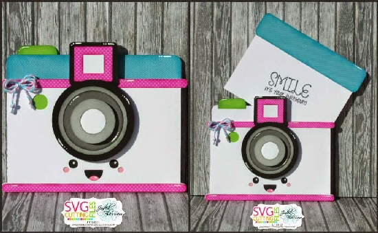 Kawaii Camera Slide Card