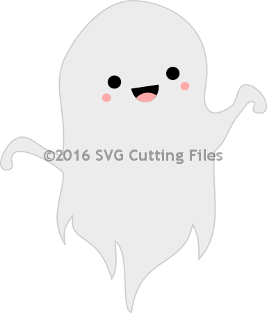 Kawaii Cute Ghost