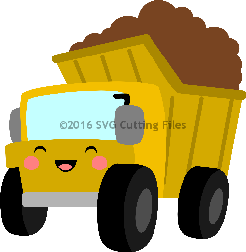Kawaii Dump Truck