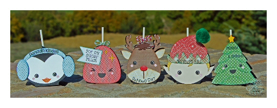 Kawaii Holiday Lollipop Covers