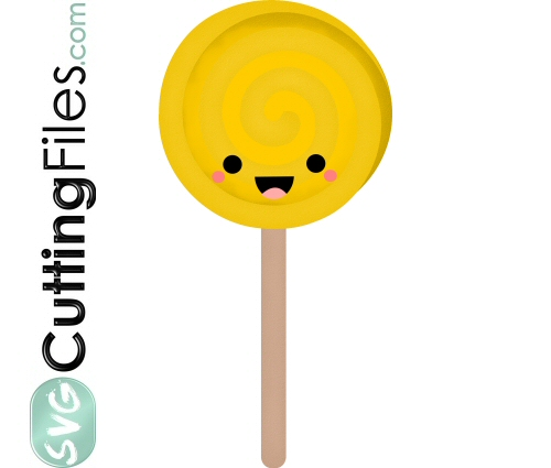 Kawaii Lollipop Sucker