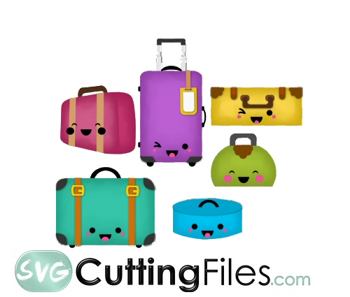 Kawaii Luggage set