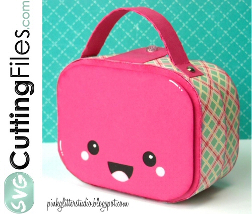 Kawaii Lunchbox / Suitcase