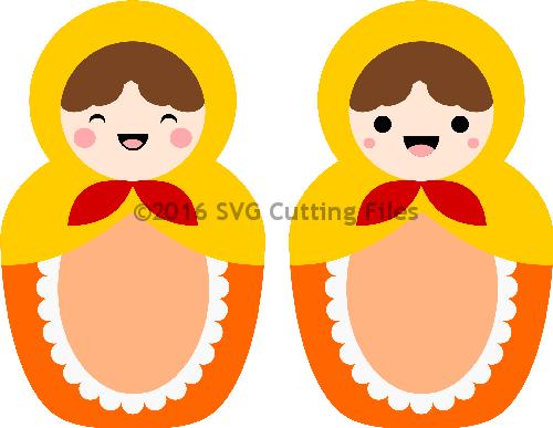 Kawaii Nesting Dolls