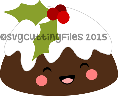 Kawaii Plum Pudding