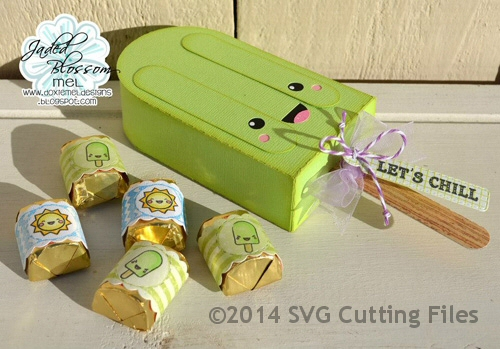 Kawaii Popsicle Box
