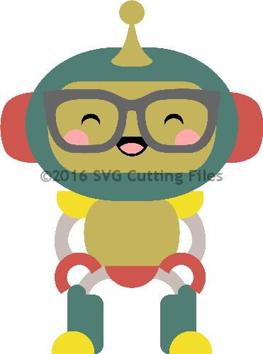 Kawaii Robot Nerd