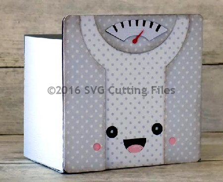 Kawaii Scale Box