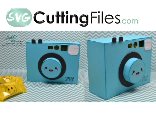 Kawaii Snap Shot 3d Camera Box