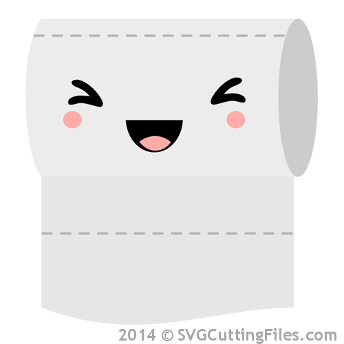 Kawaii Toilet Paper