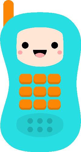 Kawaii Toy Phone