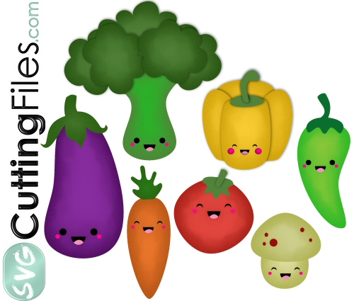 Kawaii Veggies