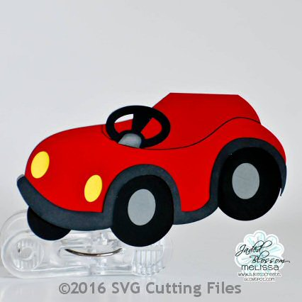 Kid Car Card