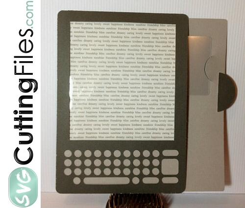 Tablet Reader Slide Card