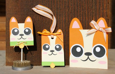 Kitty Card - Hang Tag and Lollipop Set