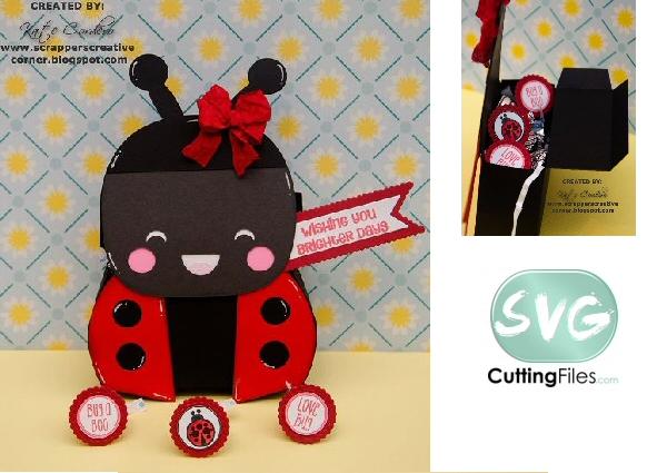 Kawaii Ladybug Box