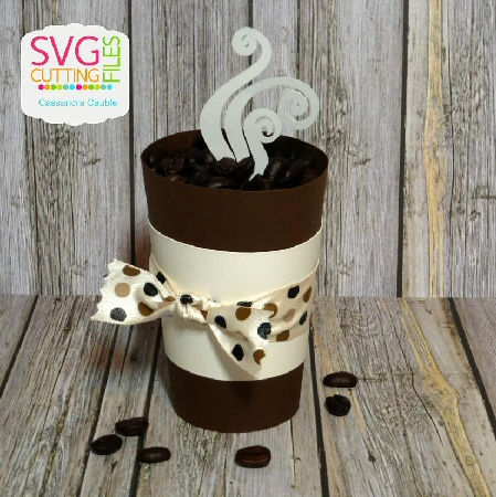 Latte Cup Treat Holder