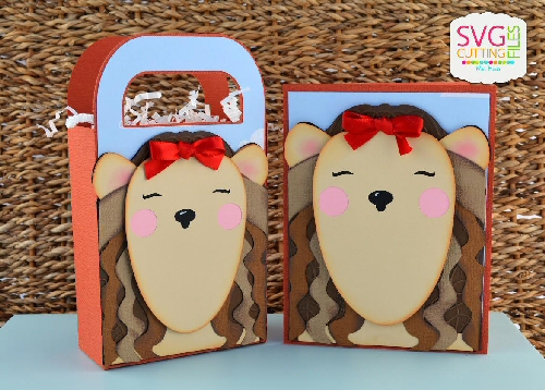 Cowardly Lion Bag & Card Set