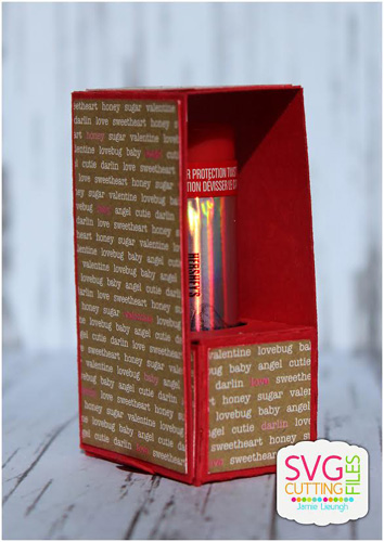 Lip Balm Fold Over Box