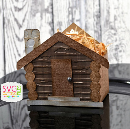 Log Cabin Treat Box