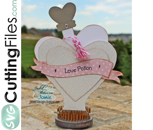 Love Potion Slider Card