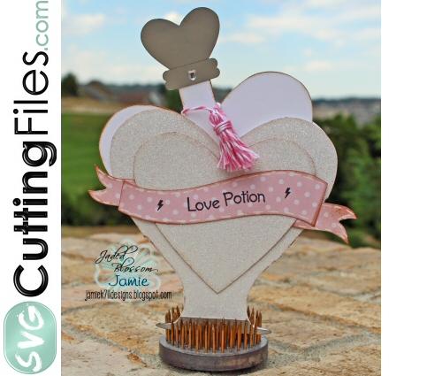 Love Potion Slider Card