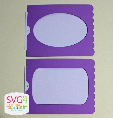 Magic Reveal Slider Card - Scallop