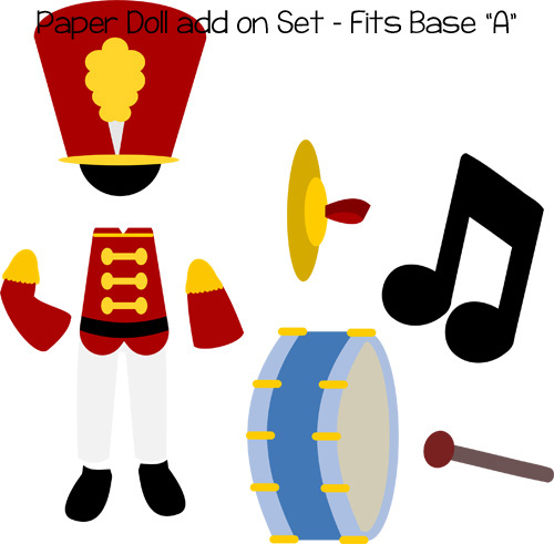 Paper Dolls Marching Band Add On
