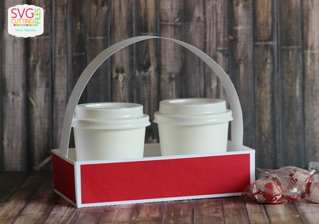 Mini Coffee Cups Caddy Basket