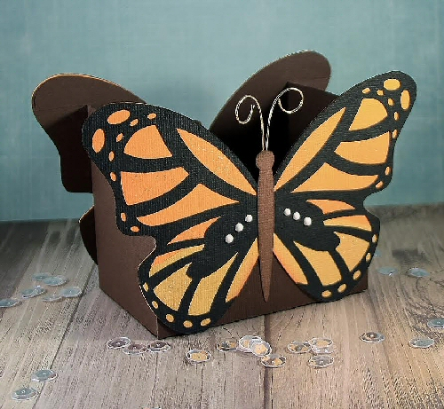 Monarch Butterfly Box