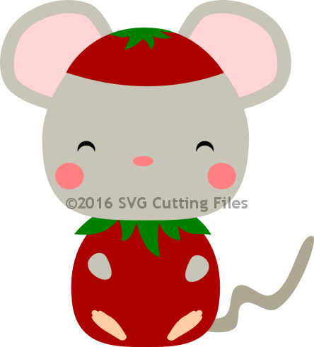 Mouse Strawberry
