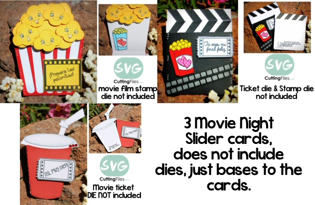 Movie Night  Card SET