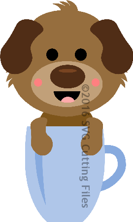 Mug Critter Puppy