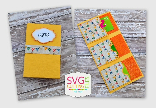 Multiple Gift Card Holder (Triple)
