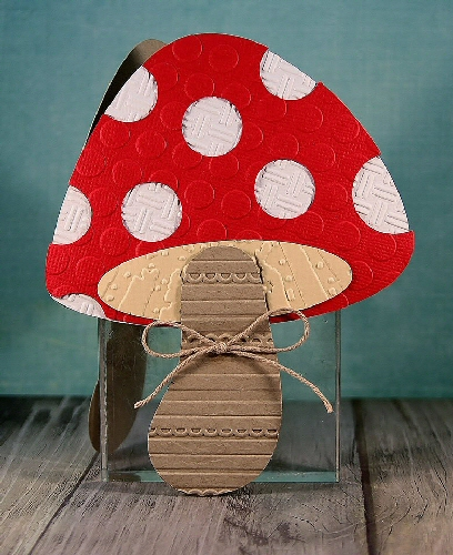 Mushroom Shaped Card