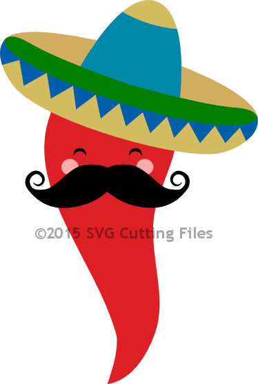 Mustache Chili Pepper