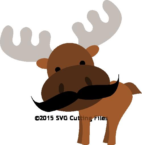 Mustache Moose