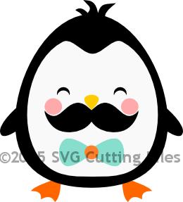 Mustache Penguin