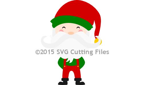 Mustache Santa