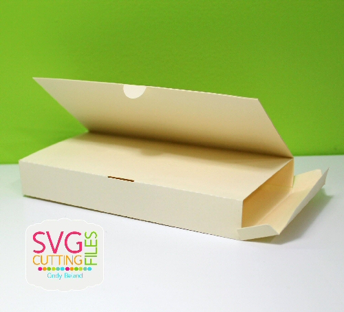 Narrow Candy Card Box
