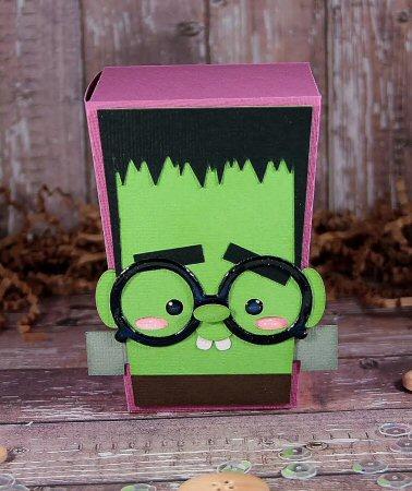 Nerdy Frankenstein Reverse Trapezoid Box
