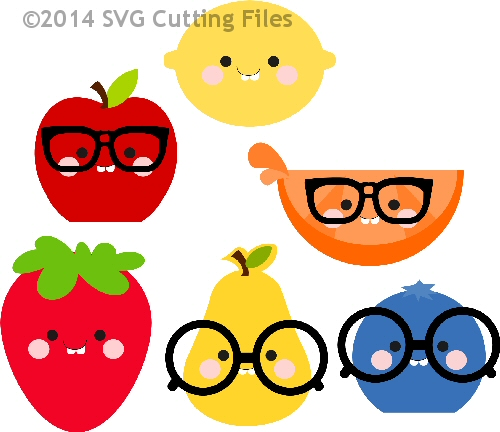 Kawaii Nerdy Fruit