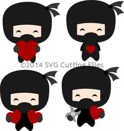 Ninja Valentines