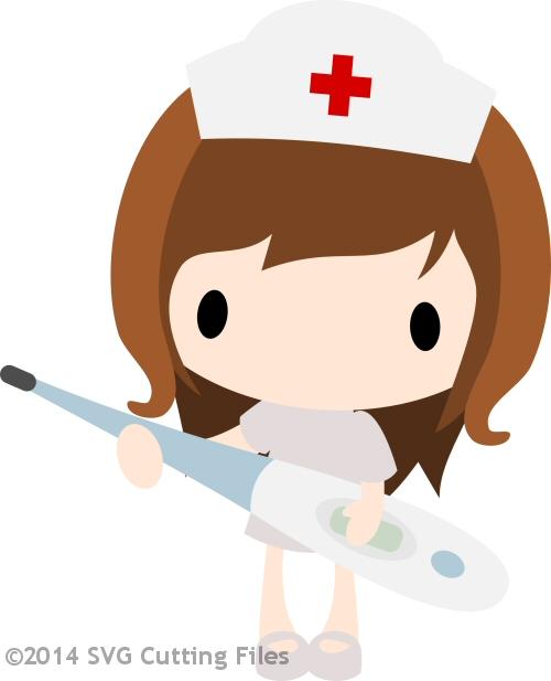 Nurse Olivia - Thermometer