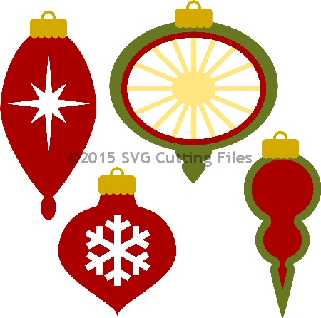 Christmas Ornament Set