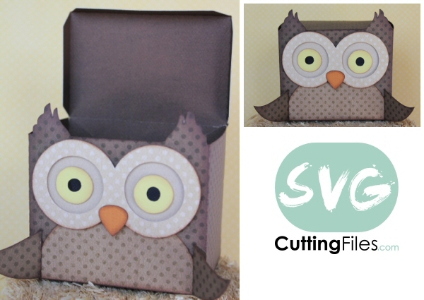 Owl Treat box Container