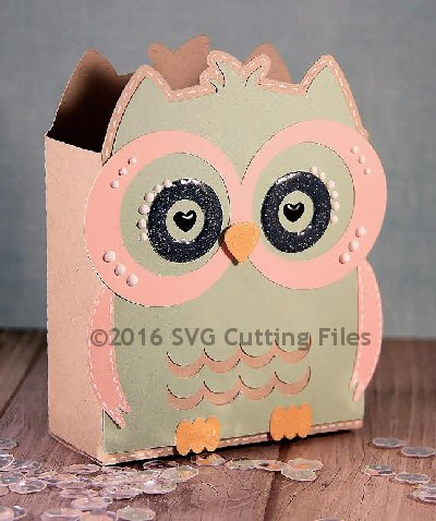 Owl Squared Bag Box